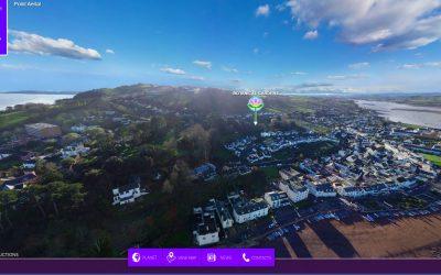 'COG' Aerial Tour of the Gardens
